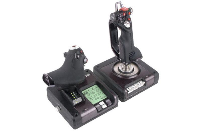 Image of Logitech G Saitek X52 Pro Flight Control System - USB