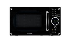 Daewoo Electronics 23 Litre 800W Retro Touch Control Microwave Black