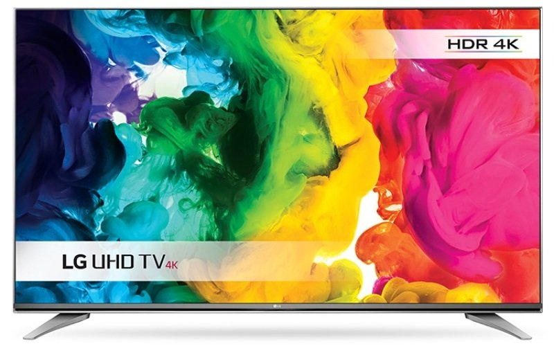 55&quot 4k Uhd Led Tv With Freeview Hd 3840 X 2160 Silver 3x Hdmi And 3