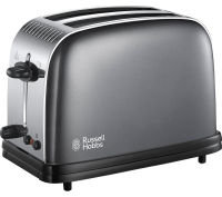 Russell Hobbs 2 Slice Colours Plus Toaster Grey