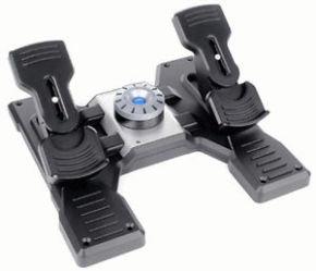 Logitech G Saitek PRO Flight Rudder Pedals - USB - WW