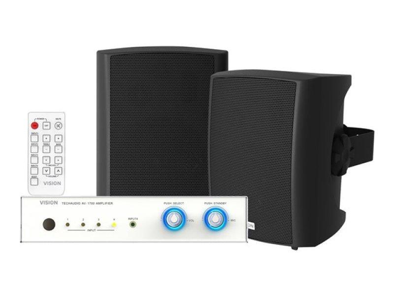 K/VISION AV-1700+SP-1800B Audio Bundle
