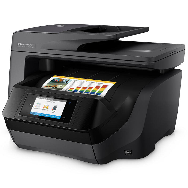 HP Officejet Pro 8725 All-in-one Wireless Inkjet Printer...