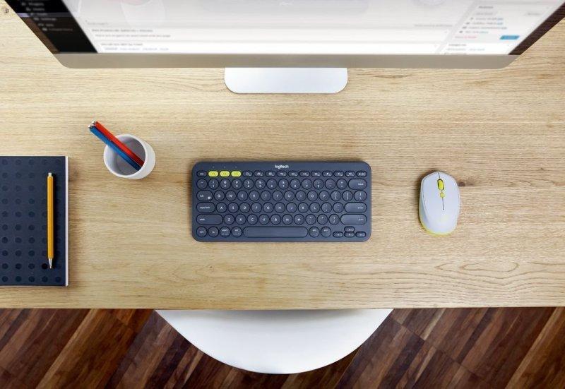 Logitech K380 Multi-Device Bluetooth Keyboard - Dark Gr