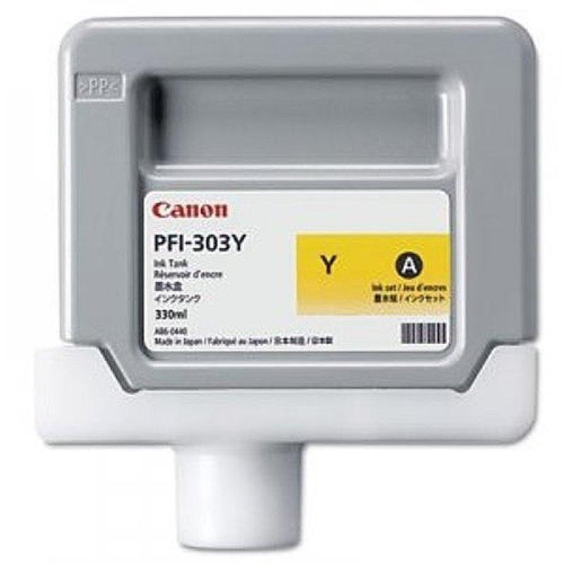 Canon PFI-303Y Yellow Ink Cartridge