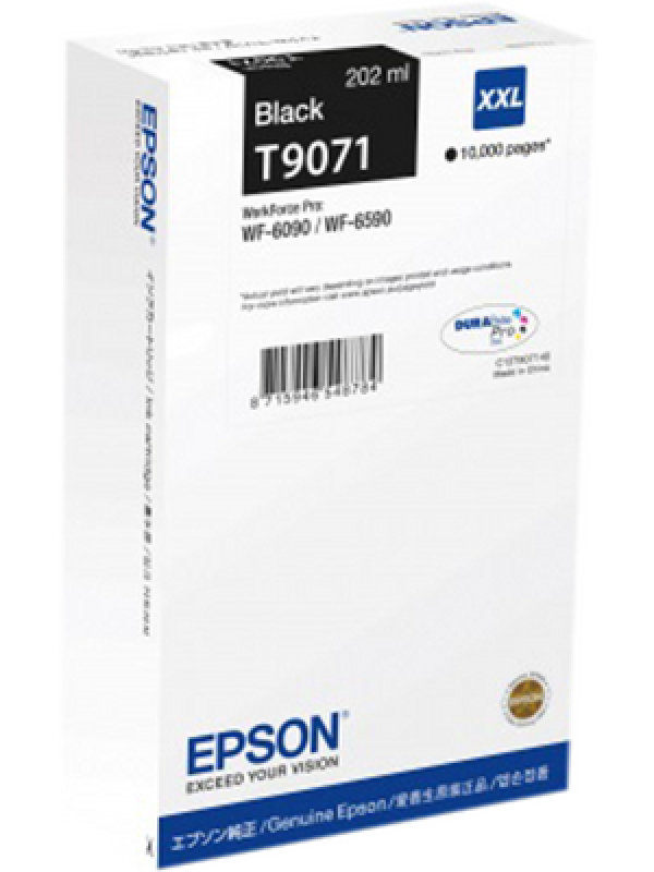 Epson T9071 Black XXL Ink Cartridge