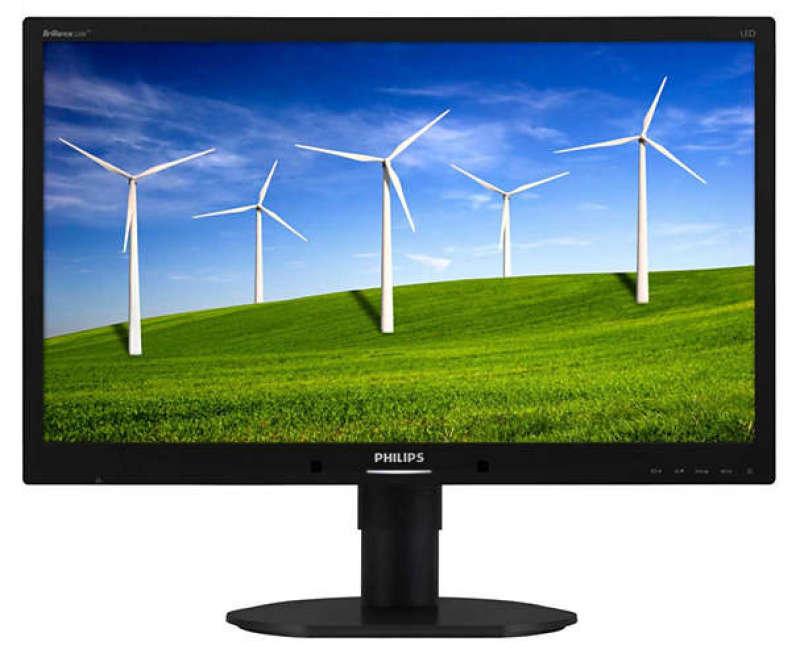 220B4LPYCB/00 22 LED 1680x1050 VGA DVI  Display Port Height Adjust Pivot Speakers Black