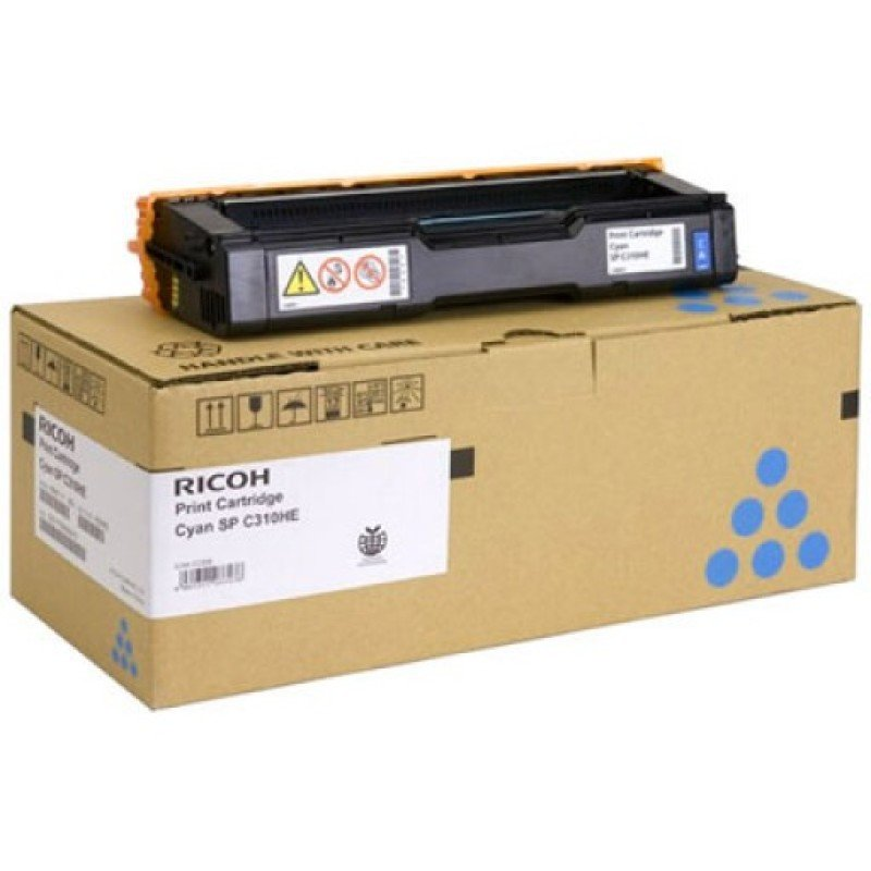 Ricoh Cyan Cartridge For The Spc3xx And The Spc23xx Series Printers - 60