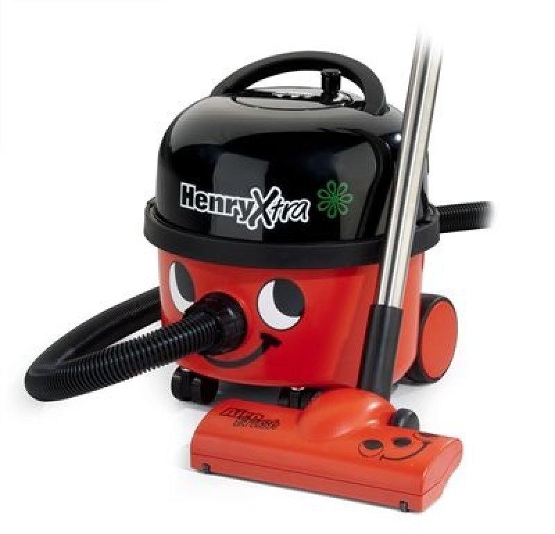 Eco Henry Xtra Vacuum Cleaner 230v Red Black Vacuum