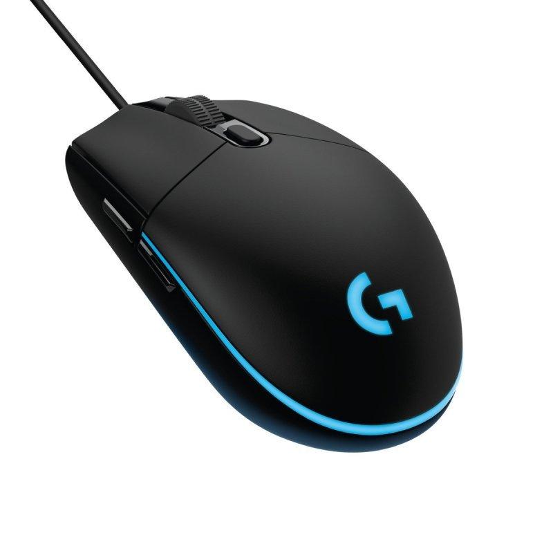 Logitech G203 Prodigy Gaming Mouse - Optical 6,000 DPI, 16.8M Colour LED Customizing Wired Gaming Mouse