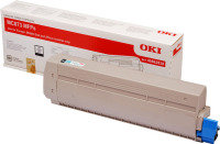 OKI MC873 Black Toner Cart