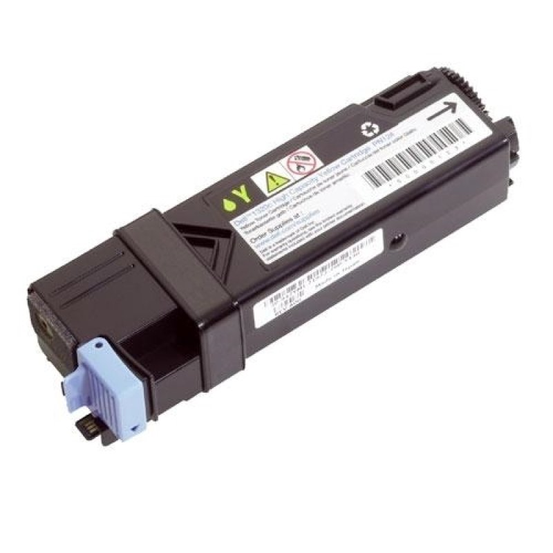Dell 1320c/2130cn/2135cn 1000 Page Standard Capacity Yellow Toner Cartridge - Kit
