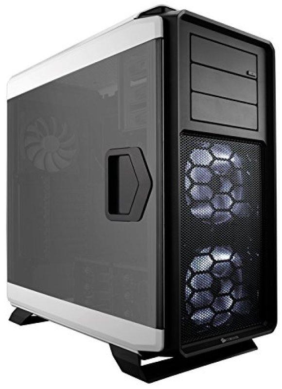 Corsair Graphite 760t Windowed Full Tower Case - White