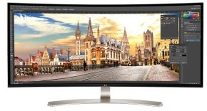 EXDISPLAY LG 38UC99 21:9 Curved  IPS Monitor