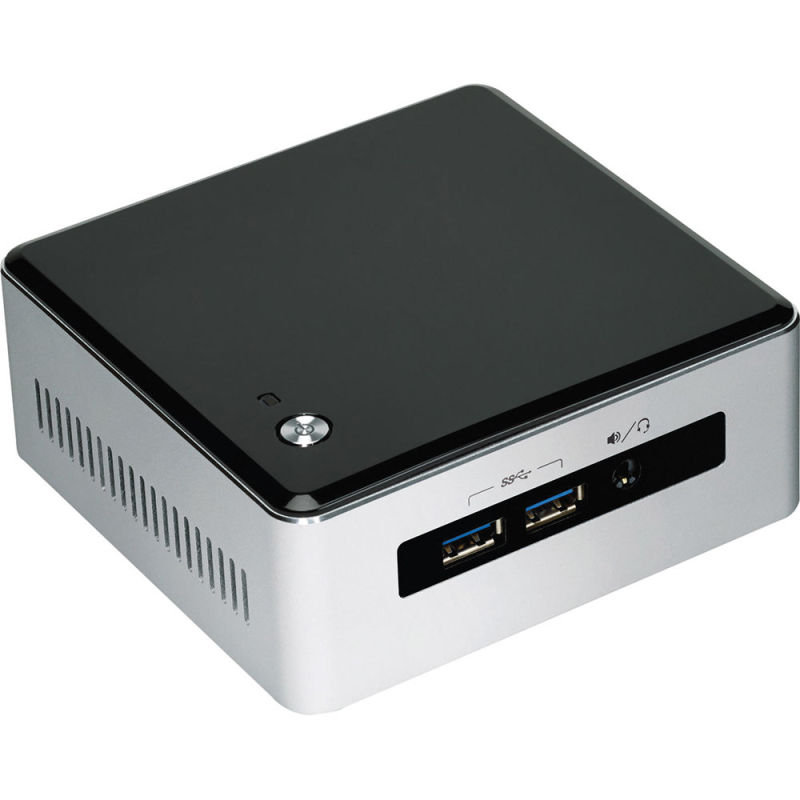 Intel NUC Kit NUC5i3MYHE Intel Core I35010U Barebone
