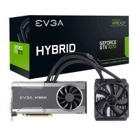 EVGA Nvidia GeForce GTX 1070 FTW Hybrid Gaming 8GB GDDR5 Graphics Card