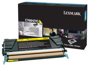 Lexmark C748 High Yield Yellow Toner