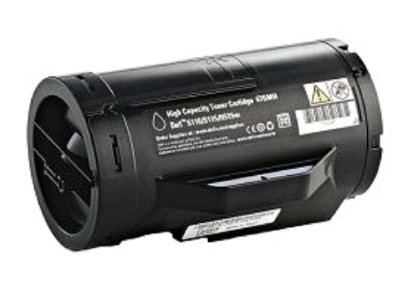 Dell S2810 Series High Yield Black Toner Cartridge, 6,000 pages