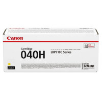 Canon 040H High Capacity Yellow Toner Cartridge