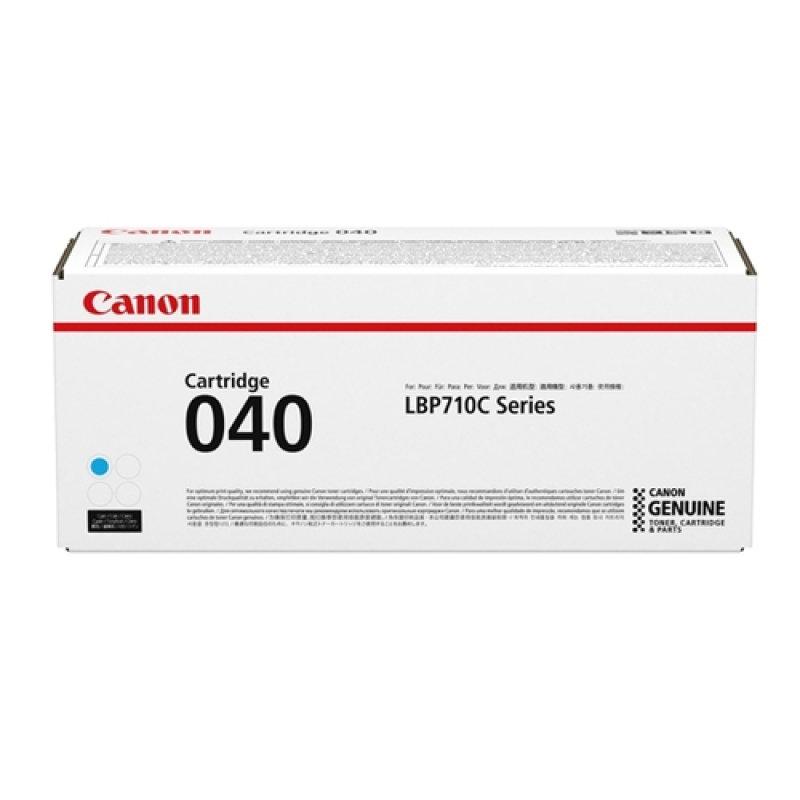 Genuine Cyan Canon 040 Toner Cartridge (040 C) - 0458C001