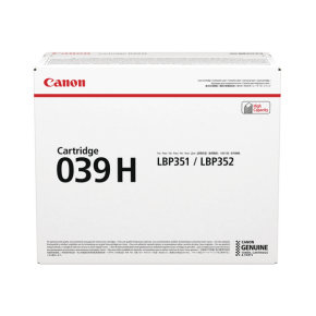 Canon 039H High Capacity Black Toner Cartridge
