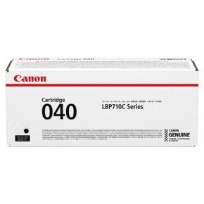 Canon 040 Black Toner Cartridge