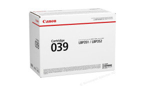 Canon 039 Black Toner Cartridge