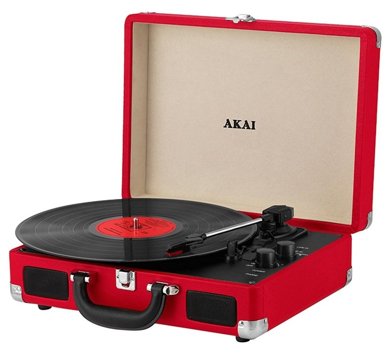 Akai A60011nr Rechargeable Turntable