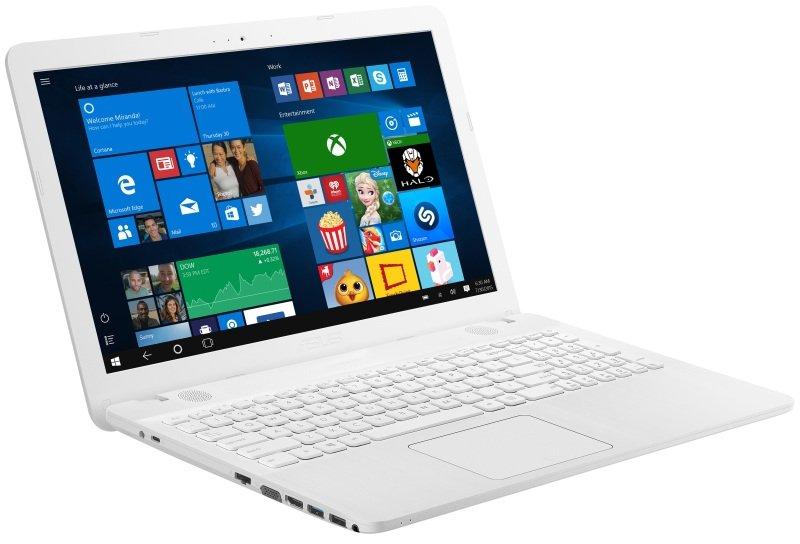ASUS VivoBook Max X541SA Laptop Intel Pentium N3710 1.6GHz 4GB RAM 1TB HDD 15.6&quot LED DVDRW Intel HD WIFI Webcam Bluetooth Windows 10 Home 64bit  White