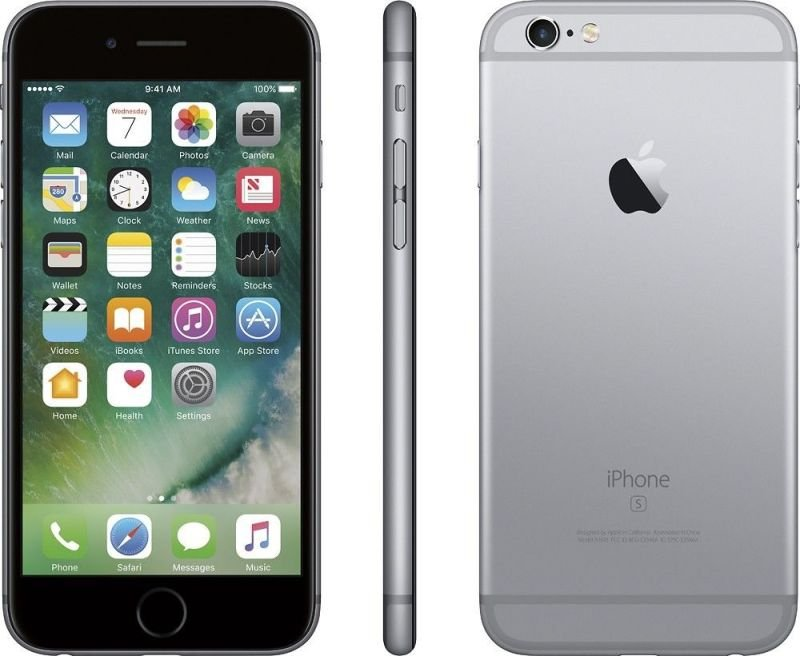 apple iphone 6s plus 128gb phone space grey. Black Bedroom Furniture Sets. Home Design Ideas