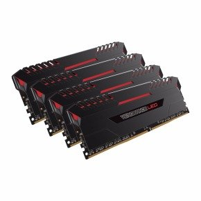 Corsair Vengeance Red LED 64GB Kit DDR4 3200MHz Memory