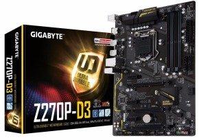 Gigabyte Z270P-D3 Intel Socket 1151 Motherboard