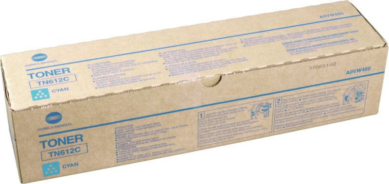 Konica Minolta TN612C Cyan Toner Cartridge