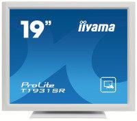"""Iiyama T1931SR 19"""" Touchscreen Monitor - White"""