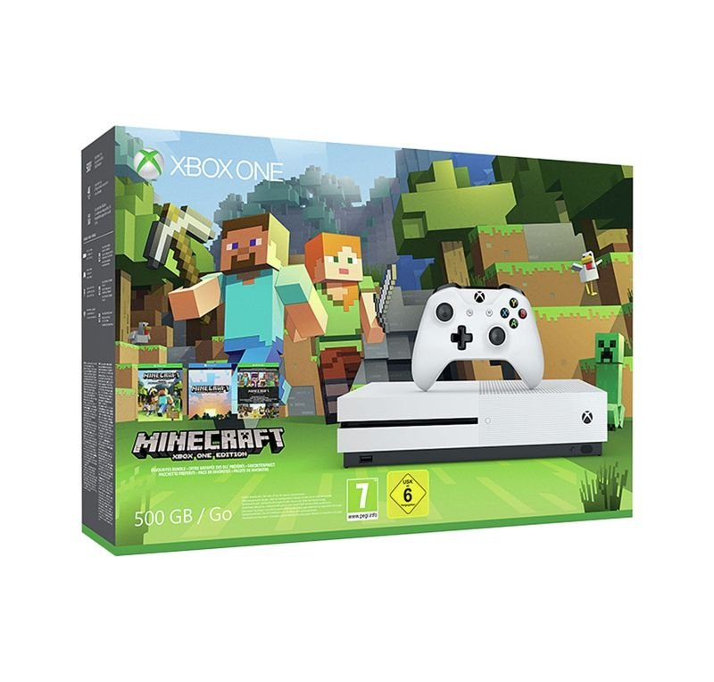 Xbox One S With Minecraft (500GB)