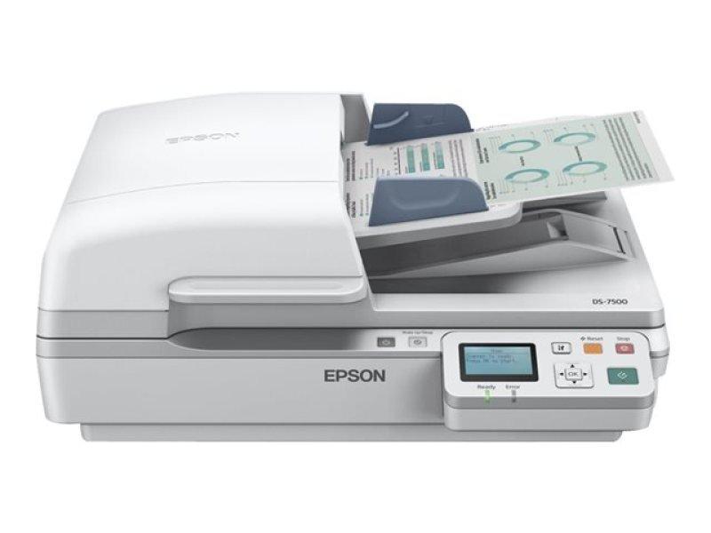 Epson WorkForce DS-6500N Document Scanner