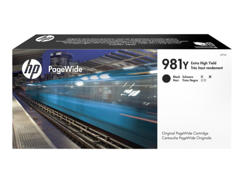 HP 981Y Black OriginalInk Cartridge  - Extra High Yield 20000 Pages- L0R16A