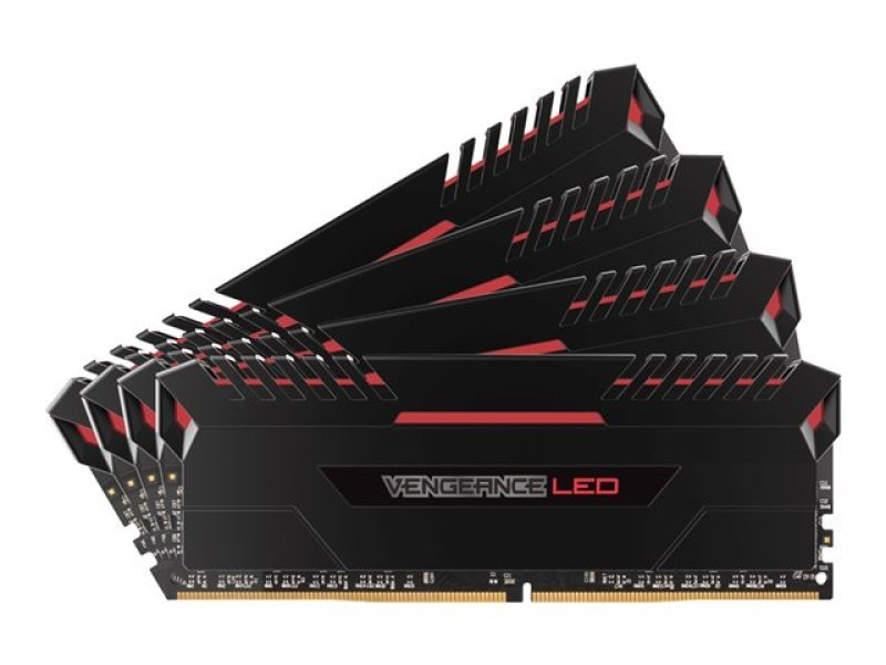 Corsair Vengeance Red LED 32GB Kit DDR4 3466GHz Memory