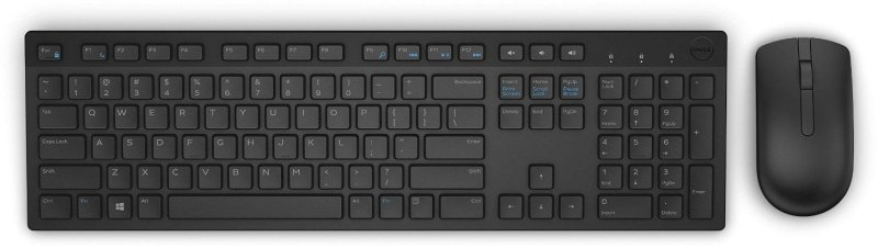 Dell KM636 Wireless Keyboard and Mouse Set