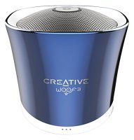 Creative Woof 3 Bluetooth Wireless Speaker - Blue