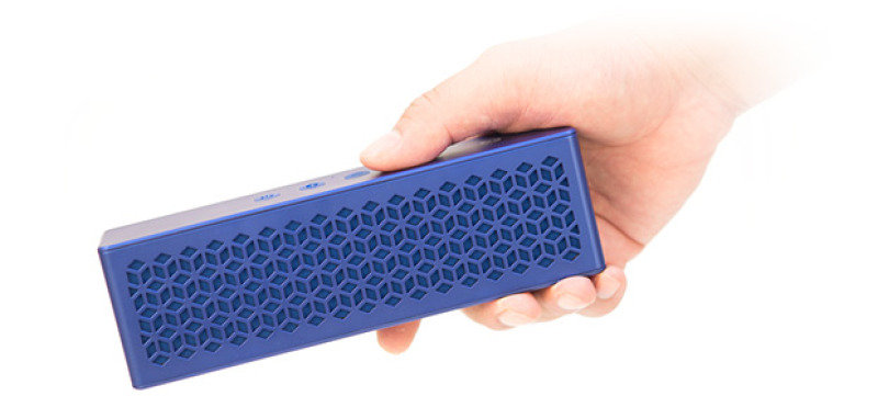 Creative MUVO Mini Pocket-Sized Weather Resistant Bluetooth Wireless Speaker with NFC - Blue
