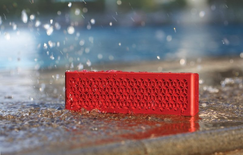 Creative MUVO Mini Pocket-Sized Weather Resistant - Red