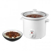Elgento E16002 3 Litre White Slow Cooker