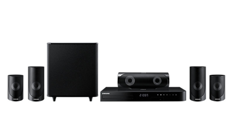 HTJ5500 5 Speaker 3D Bluray & DVD Home Theatre System