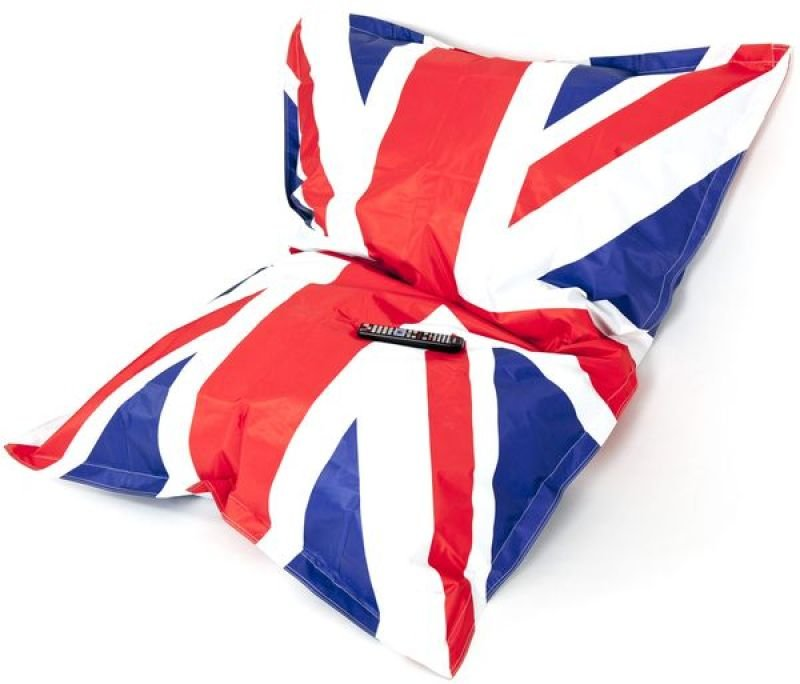 Giant Union Jack Outdoor Bean Bag Unfilled Ebuyer