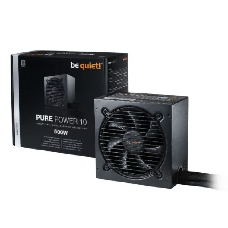 Be Quiet! Pure Power 10 500W 80+ Silver PSU