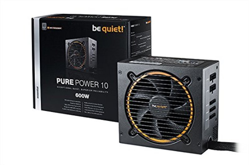 Be Quiet 600 Watt Pure Power 10 Silver PSU/Power Supply