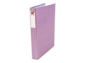 Pukka Pads A4 Metallic Ring Binder File - Pink - Pack of 10
