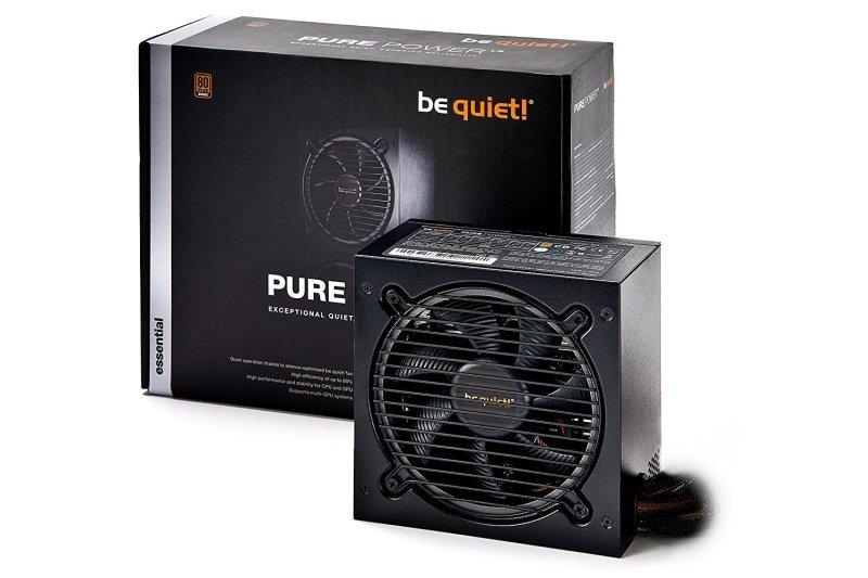 Be Quiet 500W Pure Power 10 CM Semi Modular PSU