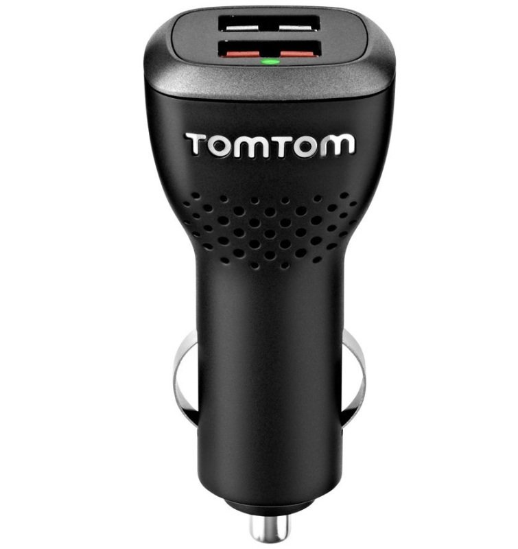 TomTom HighSpeed Dual Charger  power adapter